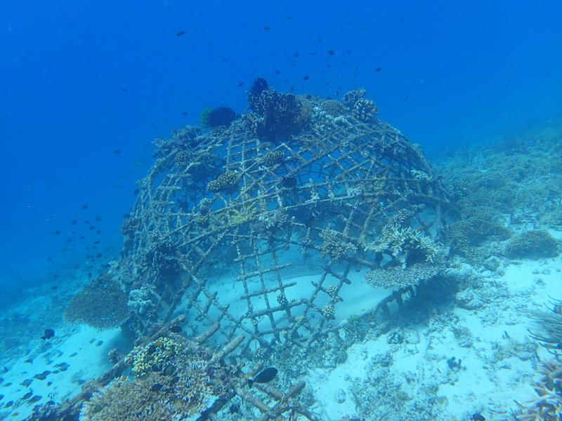 Artificial reef Gili Islands