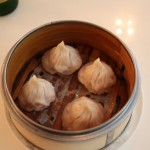 Shanghai Pork Soup Dumplings at Bamboo Basket Restaurant