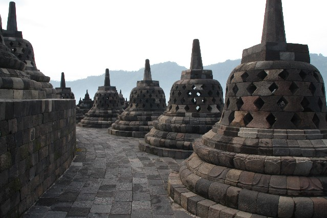 Borobudur in East Java Indonesia