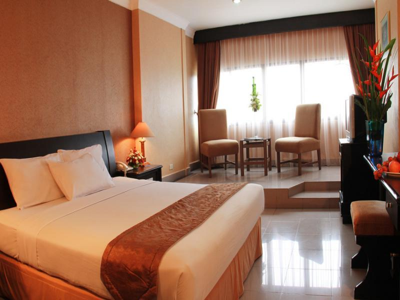 Rooms at Danau Toba International Hotel Medan