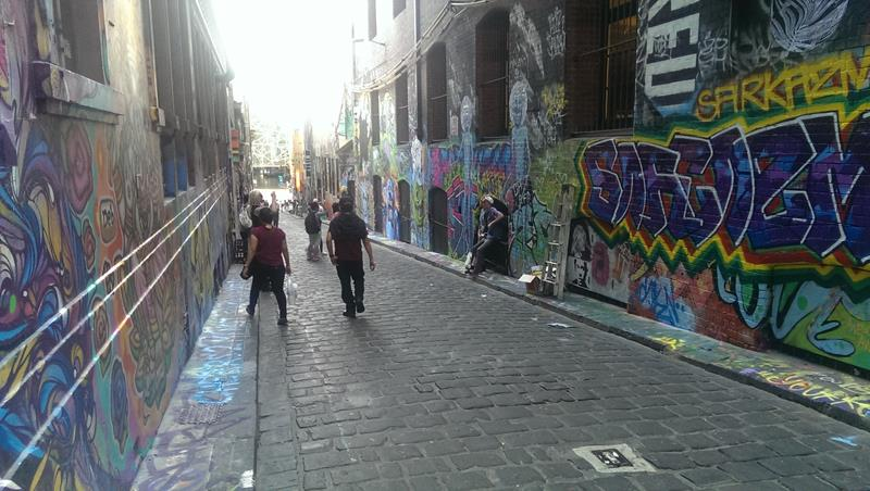 Hosier Lane Melbourne CBD