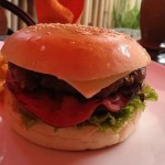 The best burger in Senggigi Lombok
