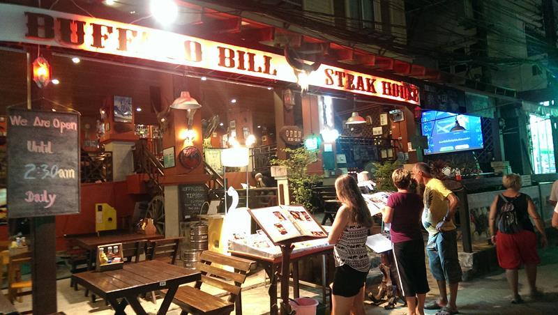Buffalo Bill Steak House Restaurant Koh Chang