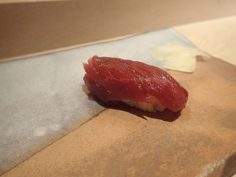 Tuna belly sushi