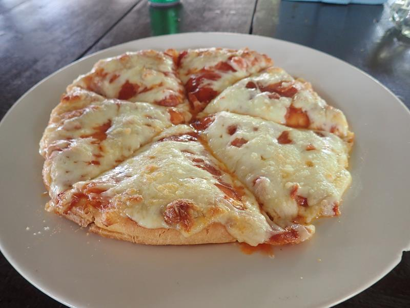 Pizza at Siam Beach Resort Koh Kood