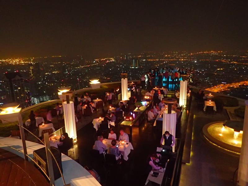 Sky Bar at Lebua State Tower Bangkok