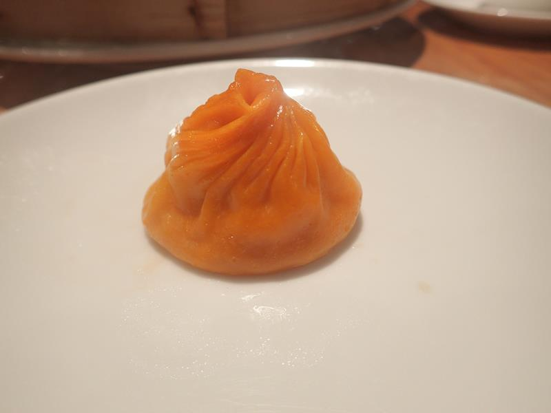 Spicy chicken Xiao Long bao dumpling