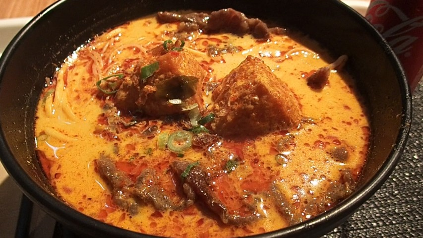 Beef Laksa at Jimmy's Recipe Sydney