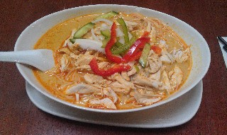 Chicken laksa at Ba Ba Laksa House