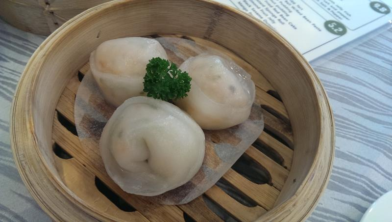 Yum Cha steamed dumplings t Sky Chinese Restaurant Gold Coast