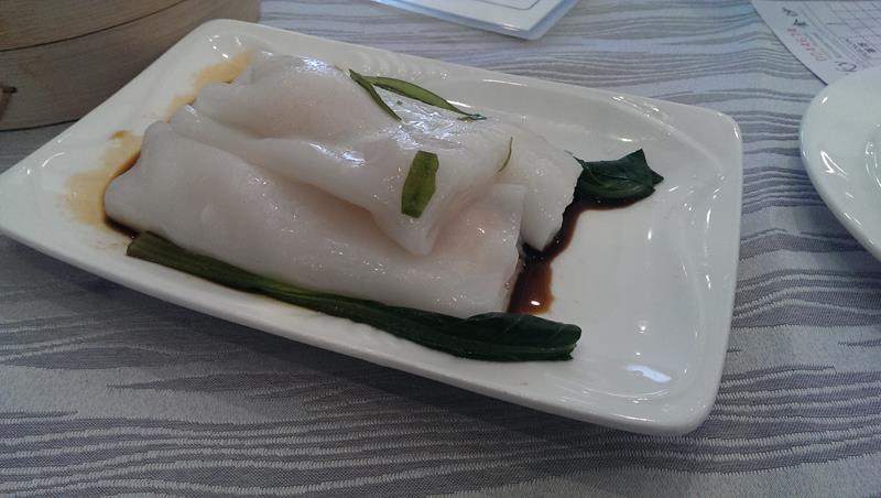 Flat rice noodles at Sky Chinese Restaurant
