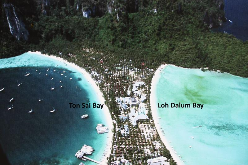 Ton Sai Bay and Loh Dalum Bay Koh Phi Phi Don