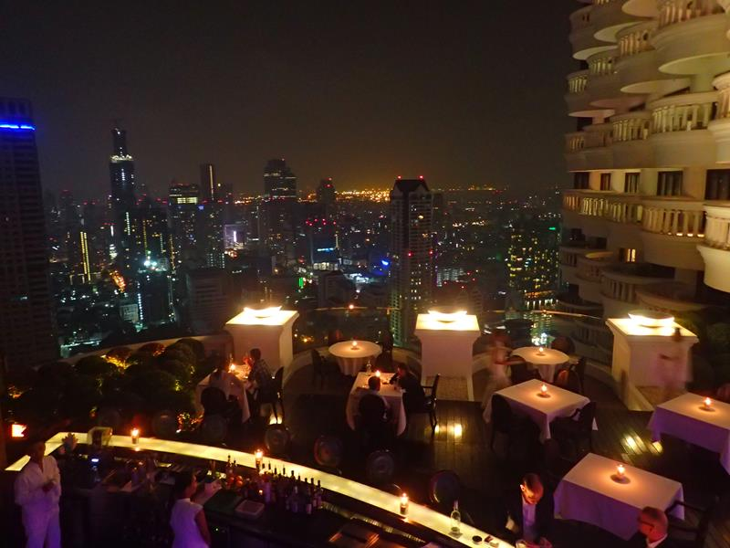 View from Breeze Restaurant Bangkok