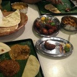 The food at Muthu's Curry Indian Restaurant Singapore