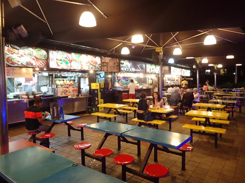 60's Old Street Hawker Food Centre Singapore
