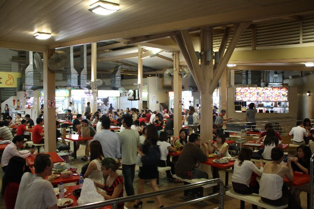 Holland Village Hawker Centre Singapore