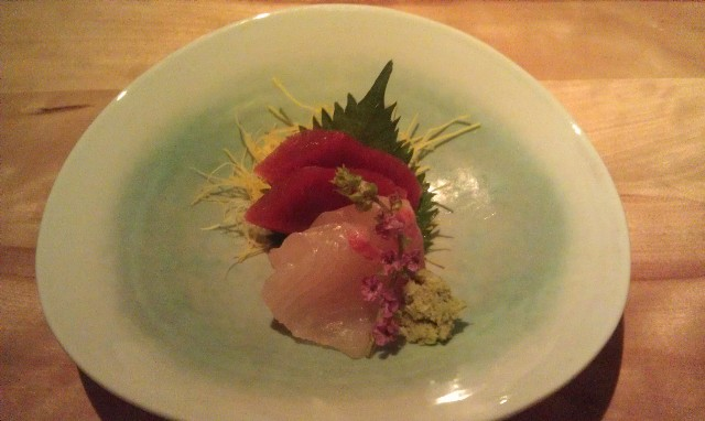 Sashimi - Japanese raw fish