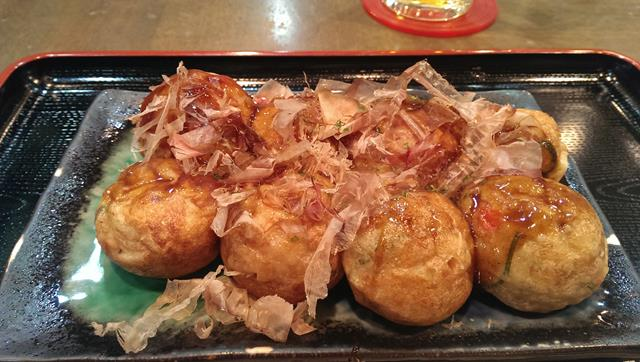 Takoyaki Japanese food