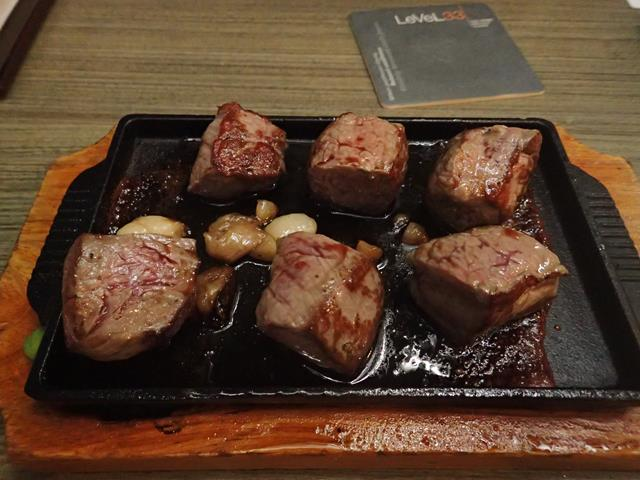 Wagyu Beef at Level 33