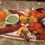 Tandoori platter at Moti Indian Restaurant Roppongi