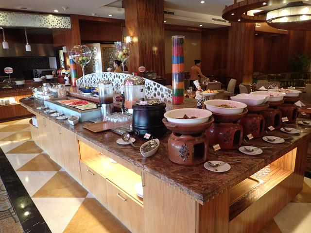 Buffet breakfast at Swiss-Belhotel Manado