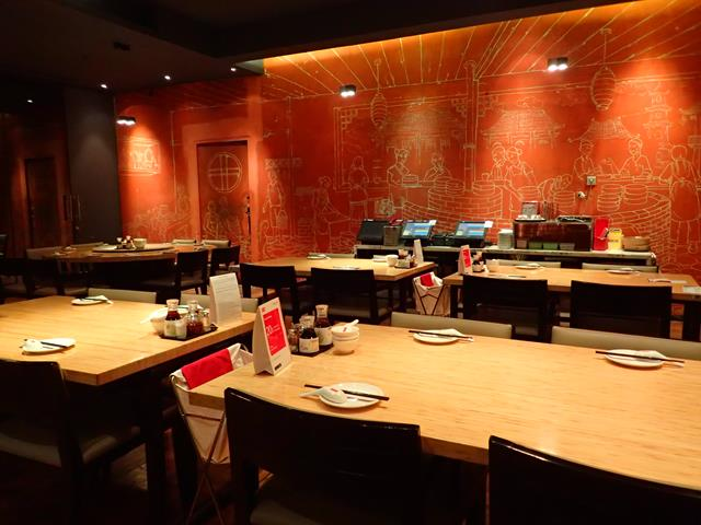 Inside dining area at Din Tai Fung Jakarta