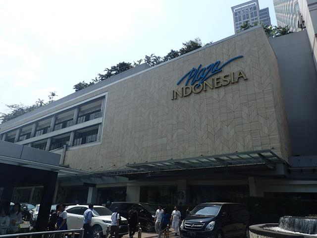 Shopping malls close to Grand Hyatt Hotel Jakarta