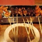 Sate at Raja Sate Restaurant Manado