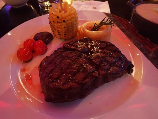 Australian Grain Fed Rib Eye Steak at B.A.T.S. Bar Jakarta