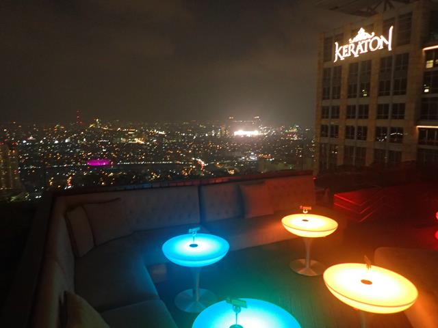 The View From Cloud Lounge Jakarta