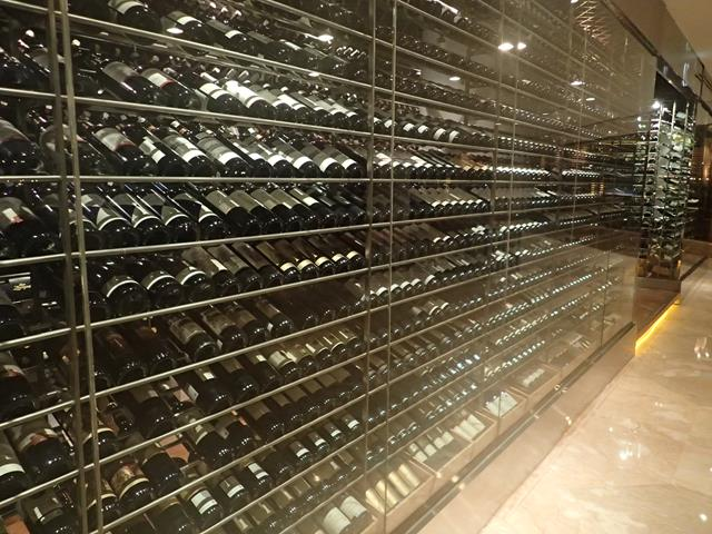 Wine Cellar at C's Steak and Seafood Restaurant