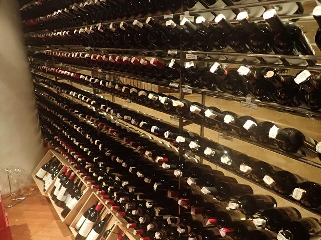 Great wine selection at C's Steak and Seafood Restaurant