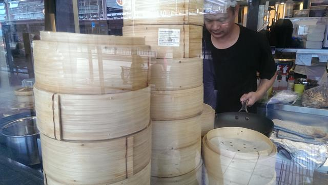 Bamboo steamers at Chefs Gallery Parramatta