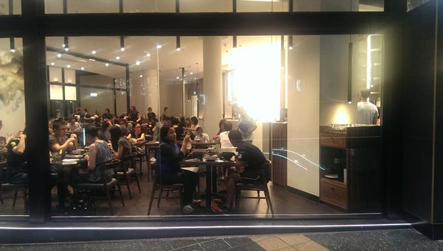 Dining at Chefs Gallery Chinese Restaurant Parramatta