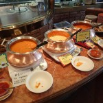 Buffet lunch at Khazana Indian Restaurant Tokyo