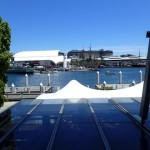 The view from Manjit's @ The Wharf Indian Restaurant Sydney