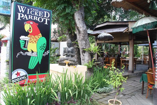 Christmas lunch and dinner at The Wicked Parrot Sanur Bali
