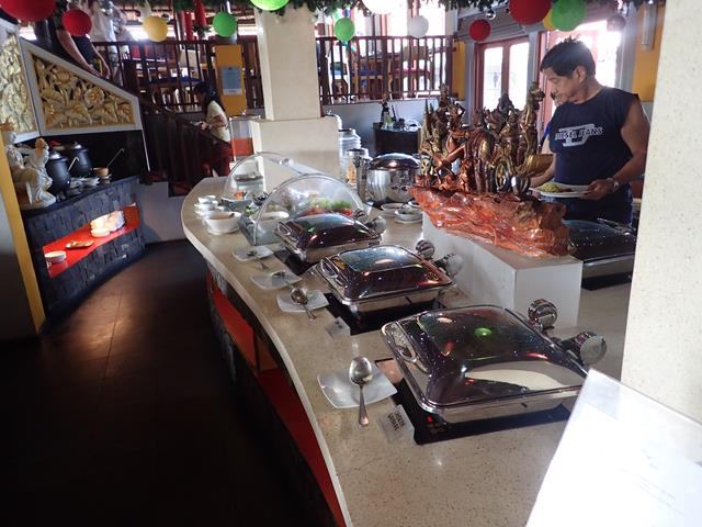 Buffet breakfast at the Mercure Kuta Beach Hotel