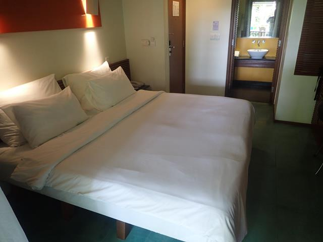 The rooms at the Mercure Kuta Beach Hotel Bali
