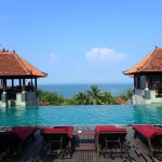 Swimming Pool at the Mercure Kuta Beach Hotel
