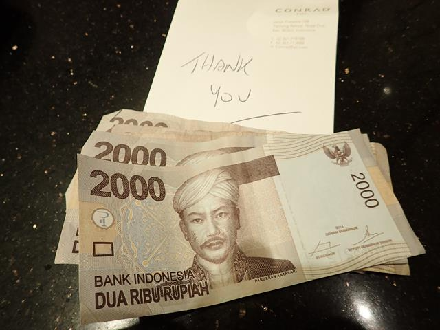 Should you tip in Bali Indonesia