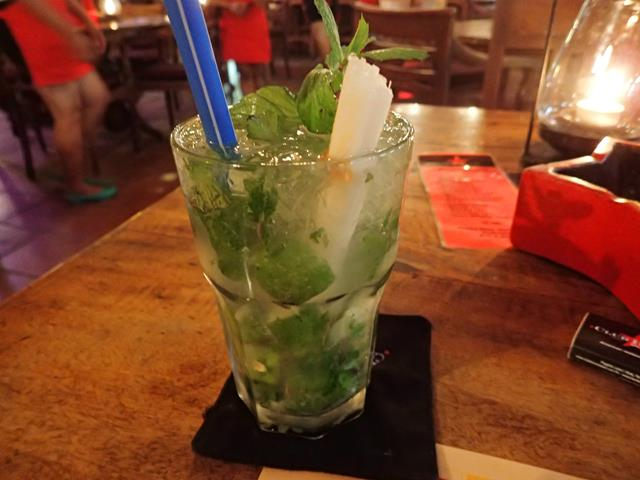 Mojito Cocktail at Club Havana Kuta Bali