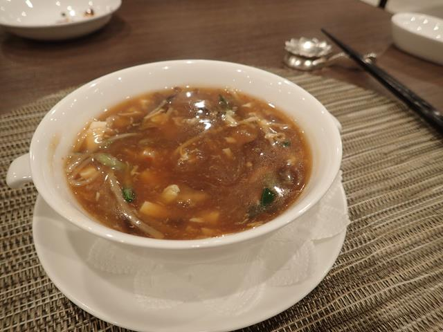 Spicy and Sour Soup at Tao Li Chinese Restaurant