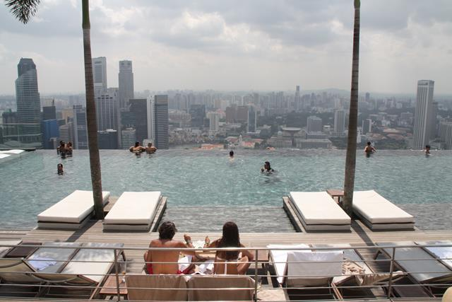 Best hotel swimming pool in Singapore