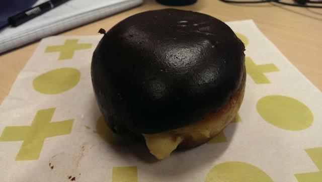 Boston Cream Donut at Short Stop Barangaroo