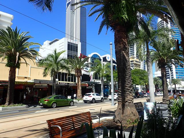View from Bar Italia Surfers Paradise