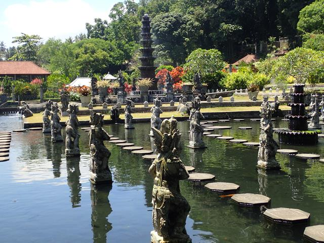 Water Palace Gardens Bali Indonesia