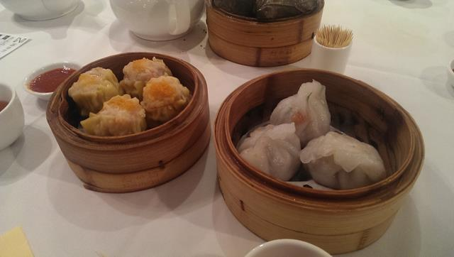 Yum Cha steamed dumplings at Zilver