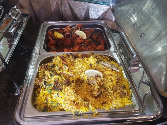Buffet Food at Lal Qila Mughlai Restaurant Sydney