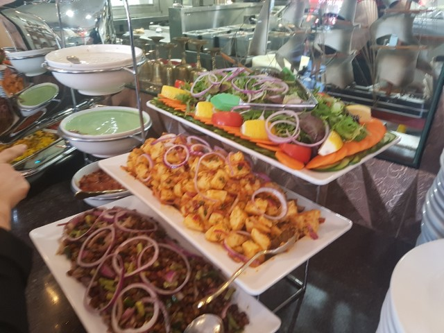 Buffet Food at Lal Qila Restaurant Sydney